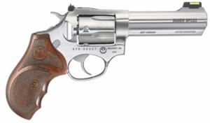Ruger 5782 SP101 Match Champion Double Action .357 MAG 4.2 5 Hardwood Stainless - 5782
