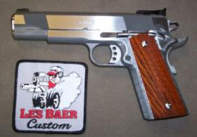 LES BAER CONCEPT V 45ACP STAINLESS ADJUSTABLE SIGHTS