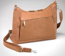 Gun Tote'n Mamas GTM-90ST Shoulder Bag - Saddle Tan
