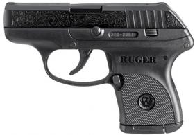RUGER LCP 380 ENGRAVED