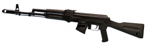Arsenal SGL23-61 Saiga 7.62x39 Black CA Compliant - SGL2361