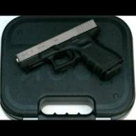 GLOCK 23 NIB-ONE Nickel-Boron Finish .40sw w/Fixed Sights