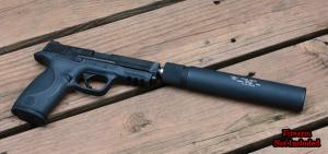 SWR TRIDENT 9MM SUPPRESSOR