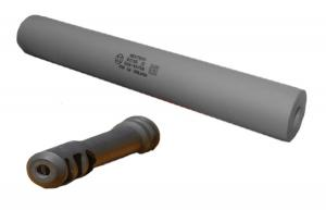 GEMTECH PSR T 338 LAPUA MUZZLE BRAKE SUPPRESSOR