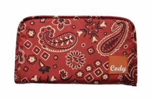 Cody Range Bag Pistol Clutch Red Bandana - BGC531BAND