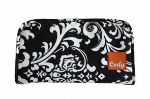 Cody Range Bag Pistol Clutch B&W Traditional - BGC531TRAD