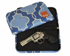 Exclusive Buds Blue Handgun Clutch - BUDSBLUE