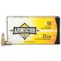 Armscor 22 TCM 40gr Jacketed Hollow Point 50 RDS