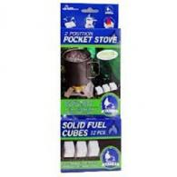 Pocket Stove With 18 Fuel Cubes - BT7900