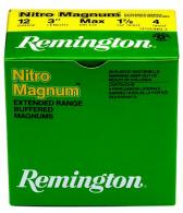 "Remington Nitro Magnum 12 Ga. 3"" 1 5/8 oz, #6 Lead Shot"