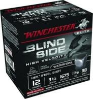 "Win Ammo SBS12LHVBB BlindSide Waterfowl 12 GA 3.5"" 1-3/8 oz B"