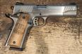 Tisas 1911-A2 Stainless Walnut Grips *COLORADO COMMEMORATIVE*