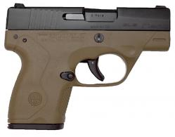 Beretta Nano 9mm Flat Dark Earth - JMN9S55LELE
