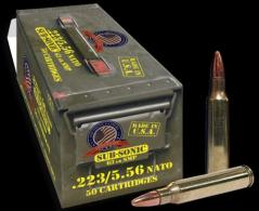 Founding Fathers SubSonic 223/5.56 63gr 50rd SMP