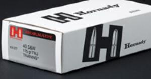 Hornady 91374LE 40S&W 175gr FMJ Training Brass 50ct