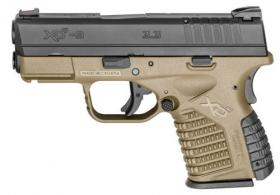 Springfield Armory XD-S Essential 9mm Pistol 3.3 FDE