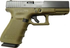 Glock 19 Gen 4 9mm 15+1 Battlefield Green - PG1950203BFG