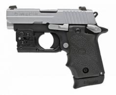 "Sig Sauer P238 .380 ACP 2.7"" 2-Tone with 3 mags, Viridian Laser & Holster"