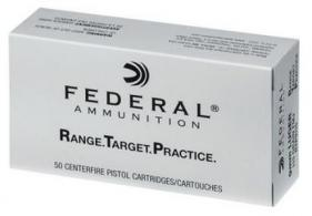 Federal Range and Target 9mm Luger 115gr FMJ CASE - RTP9115C