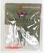 "Bushnell Poly Bag 10 Tees Zero Friction White Folds Of Honor 2.75"" - 10ZFTS"