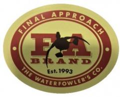"Final Approach Decal Small 3.3x2.5"" - 480100"