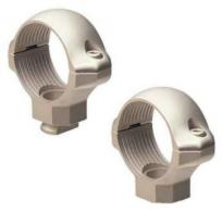 "Millett 1"" Low Nickel Std Ext Rings - SR00901"