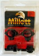 "Millett 1"" Medium Browning BAR/BLR Base and Ring Combo"