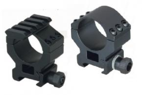 "Millett 1"" Tactical High Matte w/Accessory Rail Rings - DT00737"