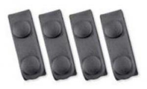 Uncle Mike's EVO Belt Keepers Black Mirage Plain Set of 4 - 61001