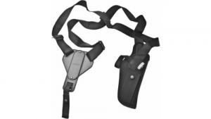 Uncle Mike's Vert Shoulder Holster Black S&W  Size 54  LH