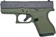 Glock 43 9mm 6+1 Battlefield Green - PI4350201BFG