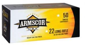 ARMSCOR 22LR 36GR HVHP 50rd box