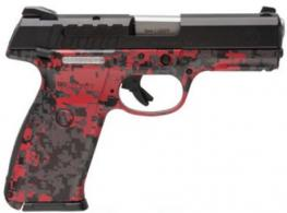 Ruger 9E 9MM DAO Red Digital 17+1 4.14in - 3345