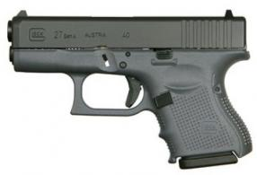 "Glock G27 G4 Gray 40S&W 9+1 3.46"" FS 3-9RD Mags"