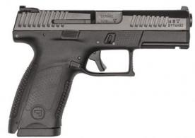 CZ P-10 CMPCT 9MM BLK/BLK 15+1 4.02in - 91520