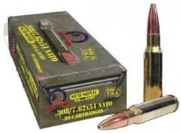 308 WIN SUB SONIC AMMO 20CT