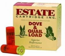 "Estate 12 Ga. Heavy Upland Game 2 3/4"" 1 1/8 oz, #8 Lead Shot"