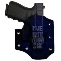 Bare Arms Got Your Six Holster for Glock - BAOWBGLOCKGYS