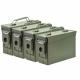 30 Cal Ammo Cans/Green 4 Pack - M19A1ODG4