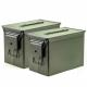 Fat 50 Ammo Cans/Green 2 Pack