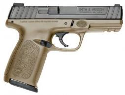 "Smith & Wesson LE SD 9mm 4"" 16+1 Flat Dark Earth - 11998LE"