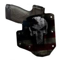 Bare Arms Distressed Skull Holster for S&W Shield - BAOWBSHIELDDP