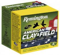 "Remington HT128 American Clay and Field Sport Loads 12 GA 2.75"" 1 1/8oz #8"