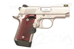 Kimber Micro 9 Stainless Rosewood Laser Grips 9mm 7+1 - 3700482