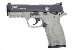 Smith & Wesson M&P22 Compact 22LR Rimfire Pistol with H152 Stainless Cerakote Finish - 12399