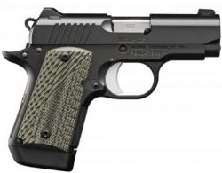 Kimber Micro 9 TLE 9MM 3.15 IN. Barrel Matte Black FIN.ish 7 Rds - 3300191