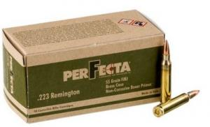 Perfecta 223 Remington 55gr FMJ 50 round box - PF223000