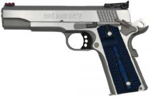"Colt Gold Cup Lite 9MM Stainless Steel 5"" 9+1 - O5072GCL"