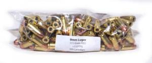 Legend 9mm 115gr FMJ 100rd Pack - 9MMS100BAG