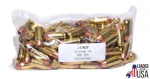 Legend PRO Ammo .45ACP 230gr HP 100rd Pack